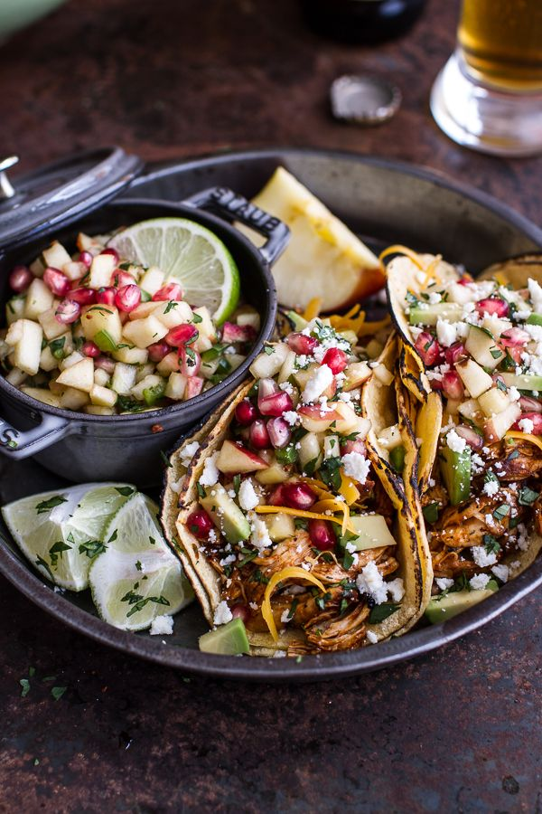 Braised chicken, Tacos and Chicken tacos on Pinterest
