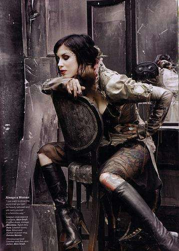 Kat Von D Always Wanted to Work in An Abandoned Barber Shop