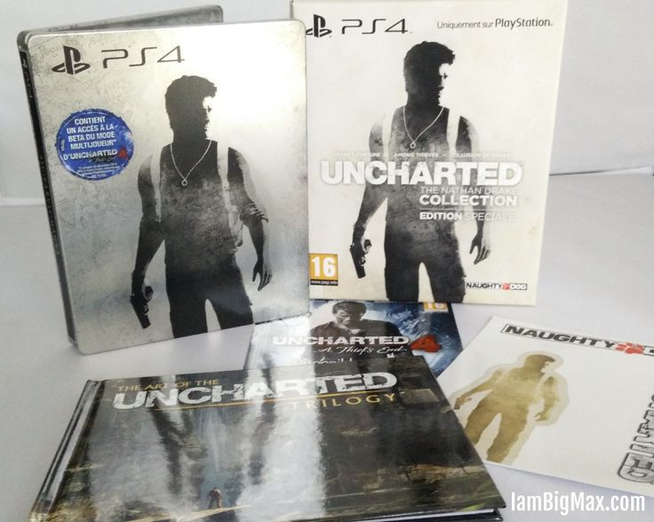 [unboxing] Uncharted : The Nathan Drake Collection – Edition Spéciale (PS4)