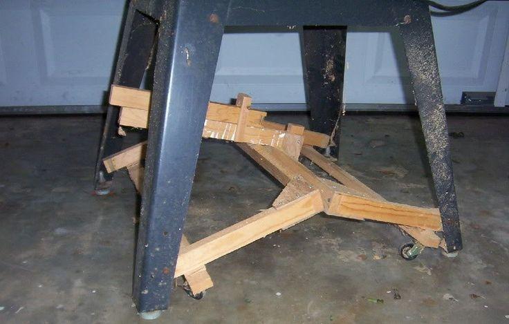 Ruedas abatibles y/o escamoteables para el taller