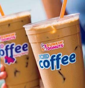 Dunkin Donuts Iced Vanilla Coffee - My comfort drink!