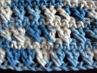 Double Crochet Crossed Stitch
