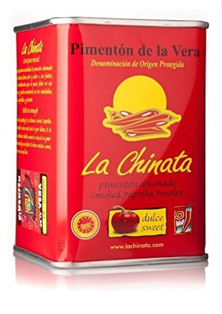 Smoked Sweet Paprika  160g D.O.P. - La Chinata Pimenton - THE VERY BEST