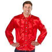 buttinette Angebot Rüschenhemd für Herren, rotIhr QuickBerater