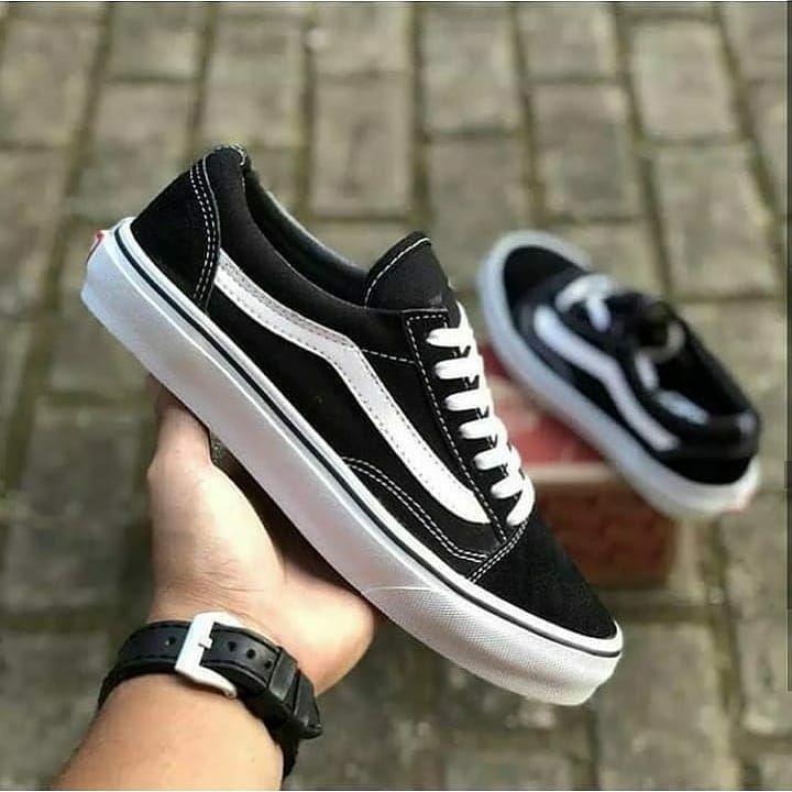 Vans Old Skool Black Idr Cuma 140 000 085721601508