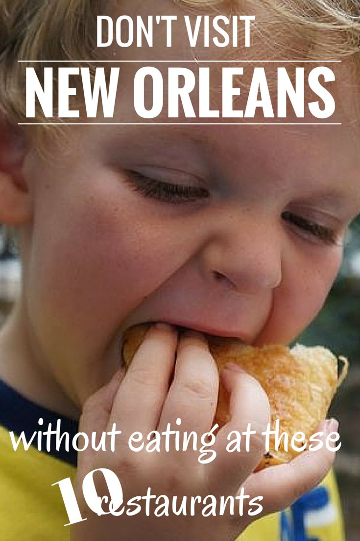 Don't Visit New Orleans Without Eating At These Ten Restaurants. You won't have much problem finding good food in NOLA, it's all good, but these 10 were our favourites by far. TRAVEL WITH BENDER    Food Travel in USA.
