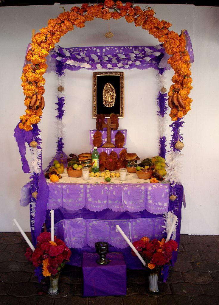 Ofrenda típica del estado de Oaxaca