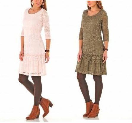 rochii din dantela masuri mari gkaki si roz- masura 50, 52, 54