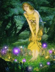 fairies - Anyone know why this image is animated? Have yet to find any other picture that animates like this on Pinterest. Just curious.