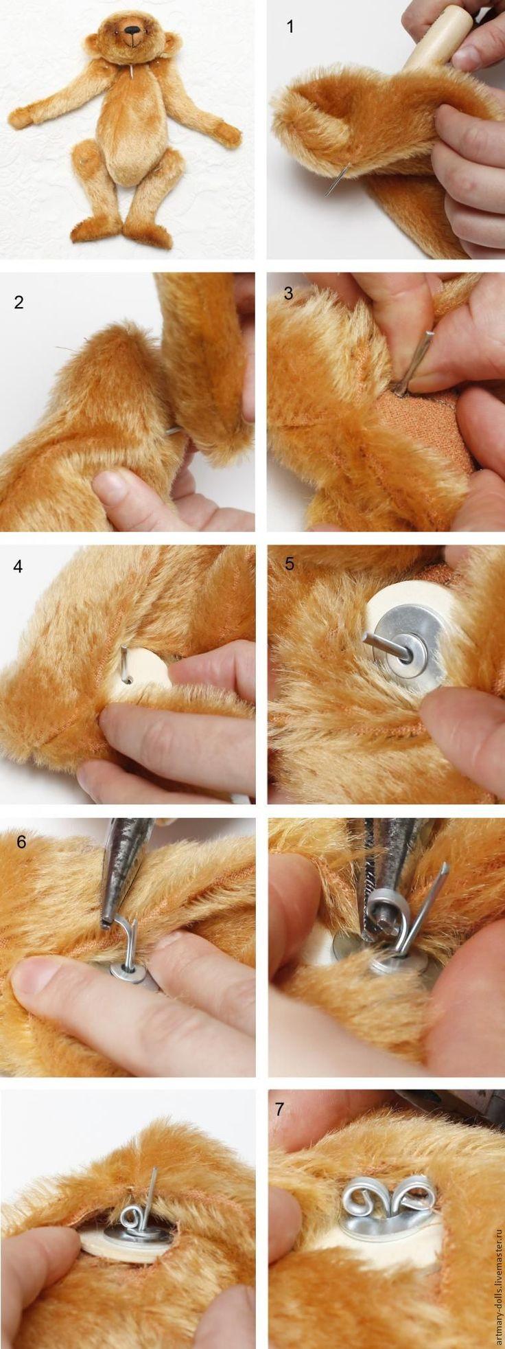 Вашему вниманию предлагается мастер-класс по шитью медведя по моей авторской выкройке.