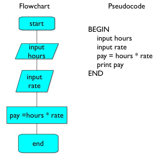 Pseudocode is an informal high-level description of the operating ...