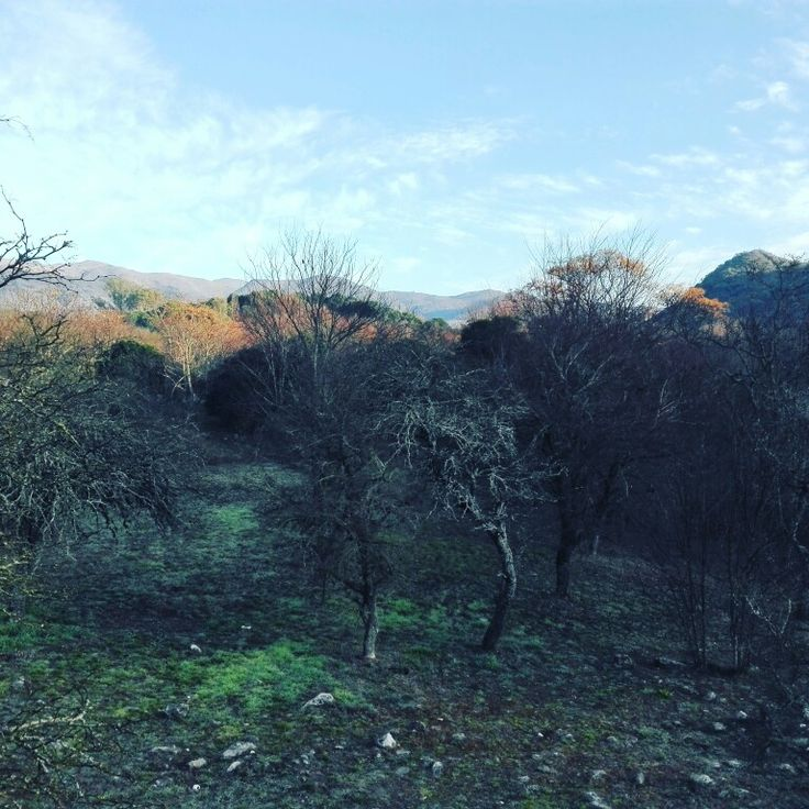 The Beautiful Sierras de Córdoba in Argentina.