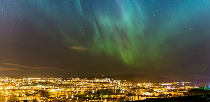 In the dark season you can experience the northern lights in Trondheim - Photo: Sven-Erik Knoff