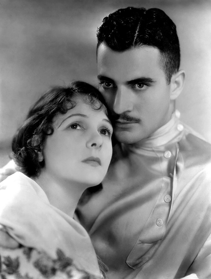 Norma Talmadge & Gilbert Roland, 1920s