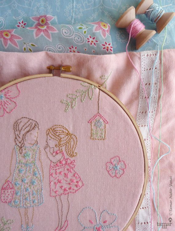 Welcome to my shop. This listing is for a PDF Download of the Embroidery…