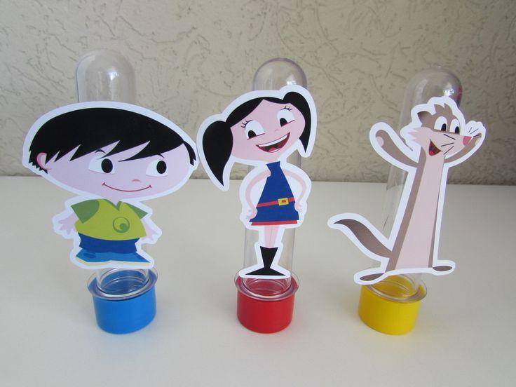 Tubete 3D personalizado Show da Luna    Fazemos em outros temas e cores de tampas.