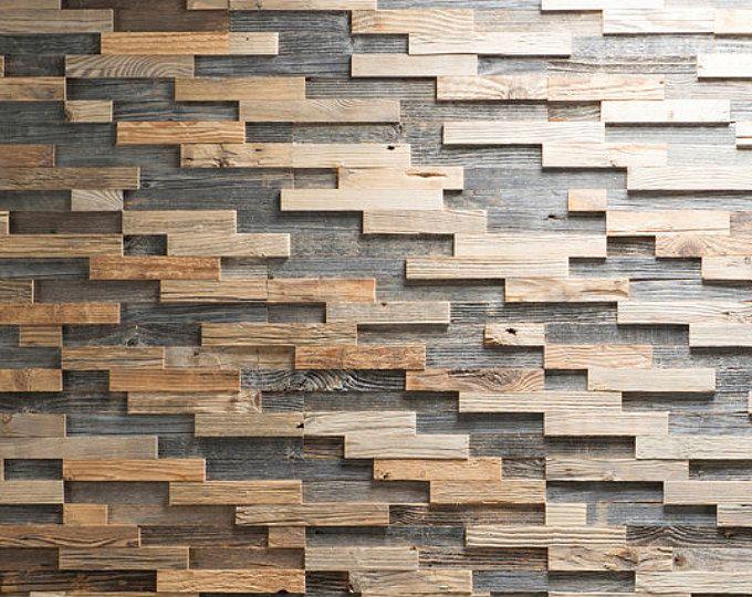 Aufgearbeiteten Holz Wand Paneel Fliesen Altholz Geburstet Vintage Holz Verkleidung Bravo
