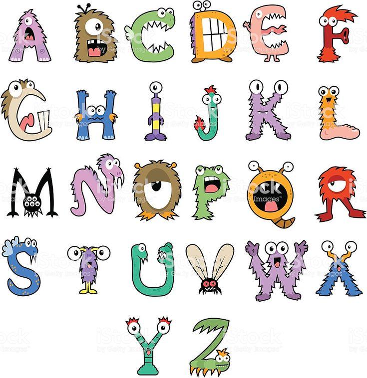 Monster Alphabet – Google-Suche