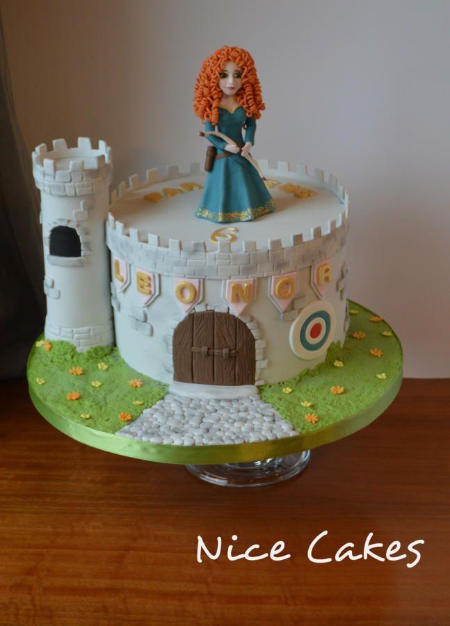 Princess Merida by Nice Cakes