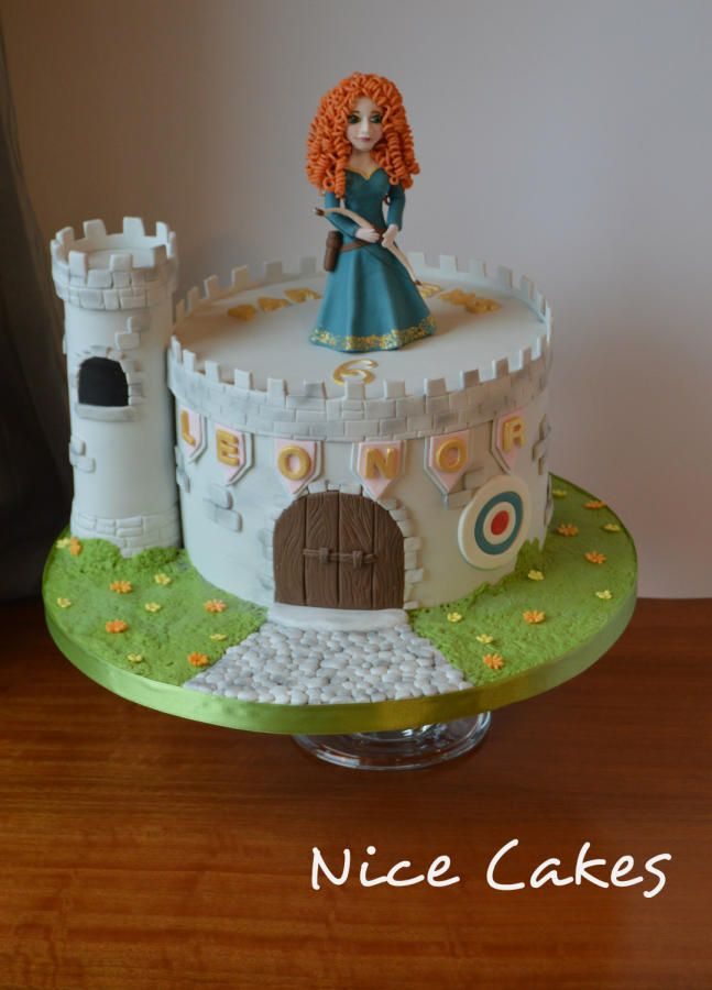 Princess Merida by Nice Cakes