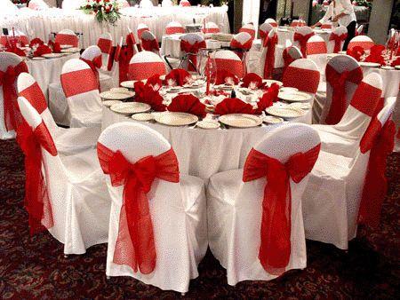 Decoración para bodas de color rojo. En este artículo les mostrare la decoración para bodas de color rojo. El color rojo es muy habitual en los matrimonios chinos, esto es debido a su signific