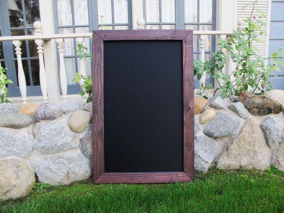 large framed chalkboard for kitchen restaurant by elegantsigns 6000 chalkboard homedecor elegantsigns