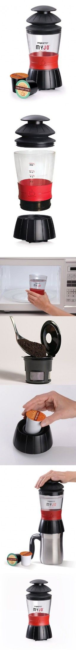 Brookstone Coffee Maker For One : 1000+ ideas about Single Cup Coffee Maker on Pinterest Single Serve Coffee, Dolce Gusto and ...