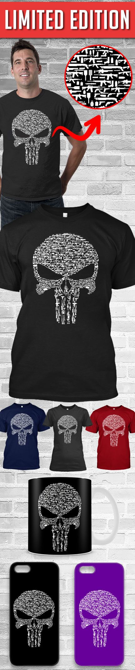 The Punisher Shirt! Click The Image To Buy It Now or Tag Someone You Want To Buy This For. #guns