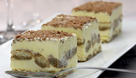 Creamy tiramisu #recipe. The most heavenly Italian dessert. To lower the fat content rather use the smooth cottage cheese.