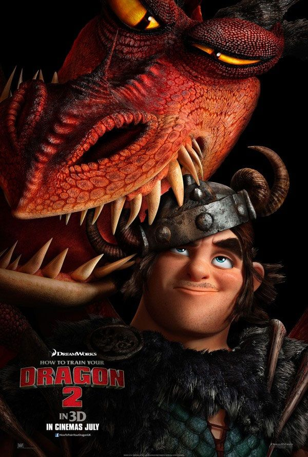 """Animação """"Como Treinar o Seu Dragão 2″ teve divulgado um novo cartaz http://cinemabh.com/imagens/animacao-como-treinar-o-seu-dragao-2-teve-divulgado-um-novo-cartaz"""