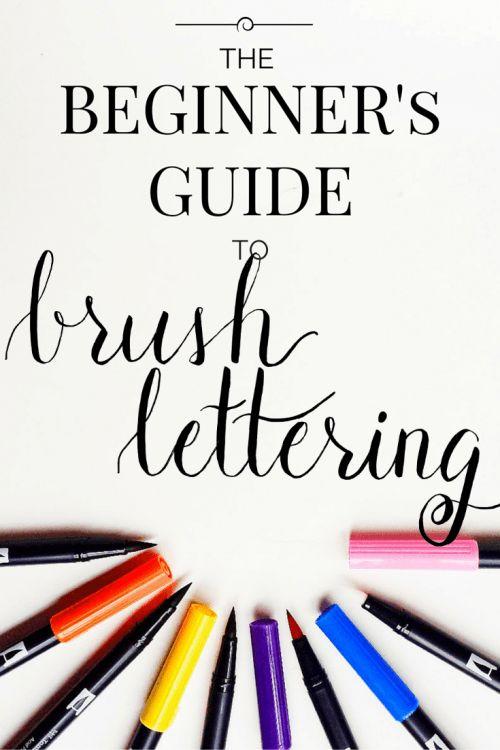Hoe begin je met mooie letters maken en wat heb je er voor nodig