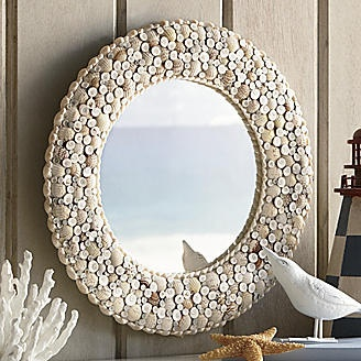 Seashells by the Seashore Mirror from Seventh Avenue ®