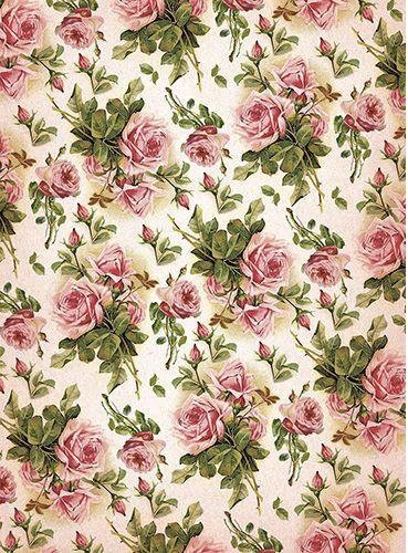 Шебби_розы.jpg (369×500) rosas papel