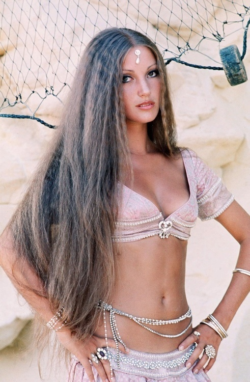 The #70's ~ a very young and beautiful Jane Seymour in 1977