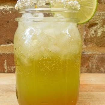 Image for Gourmet Beergarita's with Homemade Triple Citrus Margarita Mix, Beer Simple Syrup, Mixed Citrus Sea Salt, & a Splash of Beer