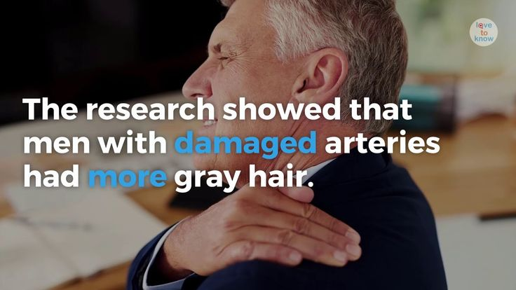 Gray hair has been linked to heart disease, a recent study presented at the European Society of Cardiology's annual congress shows. | Got Gray Hair? You Might Have Heart Disease Too. from #LoveToKnow