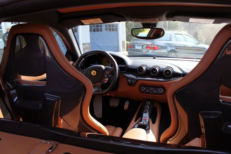 Here's What It's Like To Live With A $316,000 Ferrari F12berlinetta - The seats are supportive but not soft. The leather is fine, but if you want to ride in comfort, buy a Rolls-Royce.