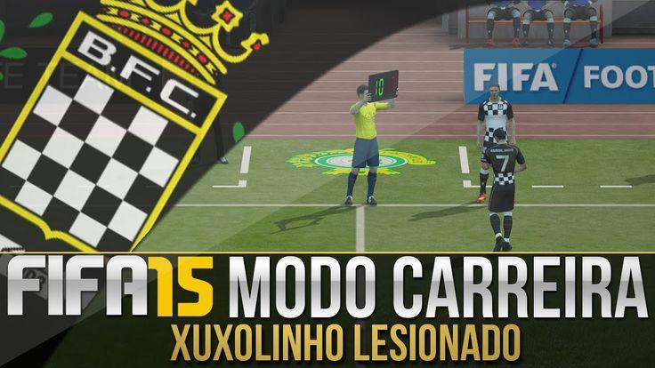 FIFA 15 - MODO CARREIRA #04 | PRIMEIRA LESÃO!!