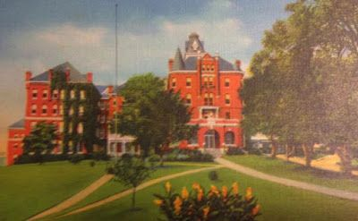 1st building at Virginia Intermont College is featured in Bristol Herald Courier article.