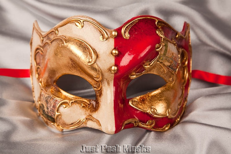 Masquerade Masks for Men Venetian Jester Joker Masks | eBay
