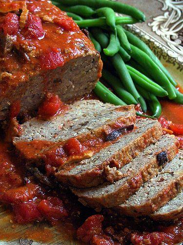 Bison Recipes:  Ground Bison Meat Loaf - Healthy Comfort Food