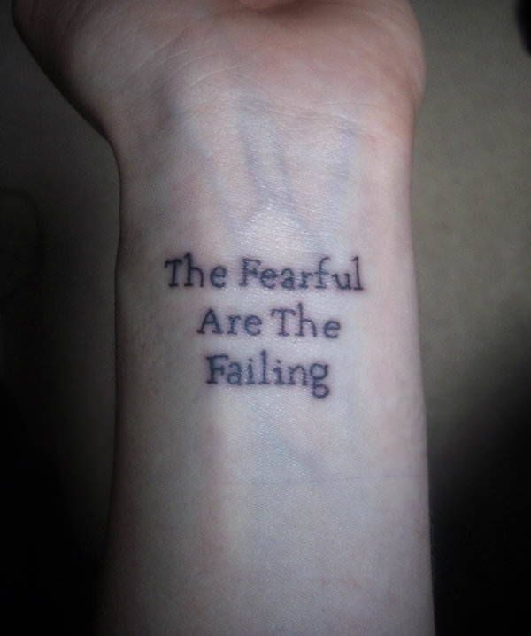 1000+ Ideas About Simple Quote Tattoos On Pinterest