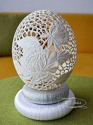 Easter eggs made by Bogusława Justyna Goleń Ażurowe Pisanki