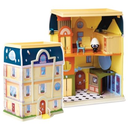 Giochi Preziosi 9311 Calimero, Casa Playset con personaggio Papers & Dreams