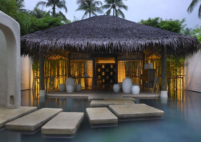 organic food, meditation, yoga, massages, treatments and therapies... one day i WILL go here - Six Senses Resort and spa