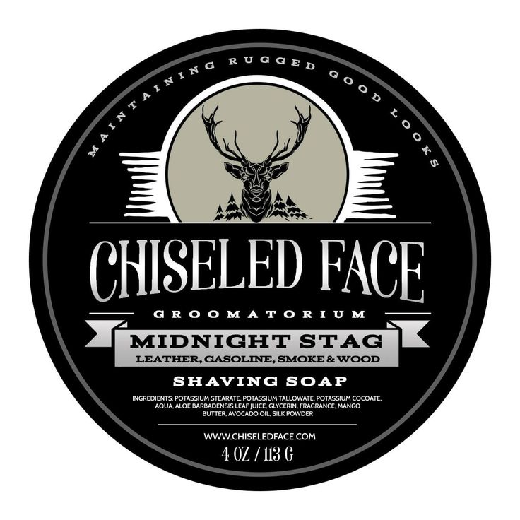 Midnight Stag Shave Soap