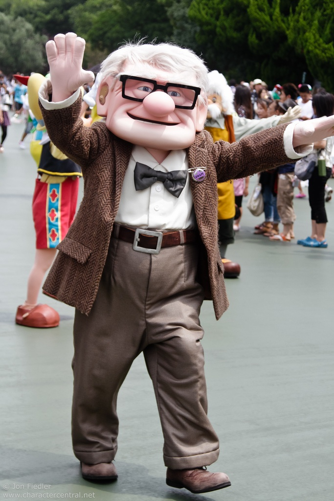 Carl Fredricksen photo by #JonFiedler