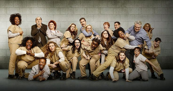 More fun (looking forward to season 3!): Orange is the New Black Season 2 by Jenji Kohan, Netflix, 2013- (TVMA)