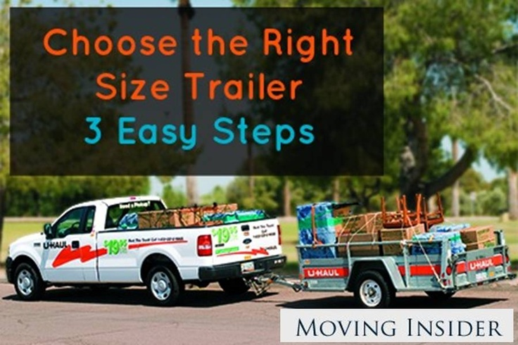 How do you choose the right size trailer rental for your move? By following these 3 steps-- http://movinginsider.com/2013/01/21/how-to-choose-the-right-size-trailer-rental/ #movinginsider #trailer