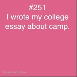 influential person college essay